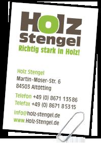 Holz-Stengel